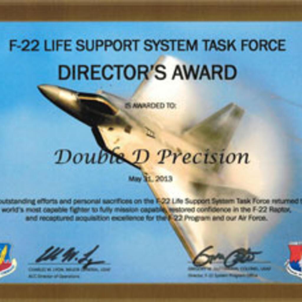 Double D Precision Inc. product image 0