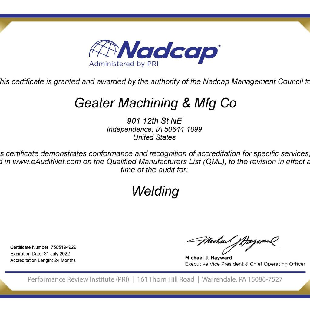 Geater Machining & Manufacturing product image 10