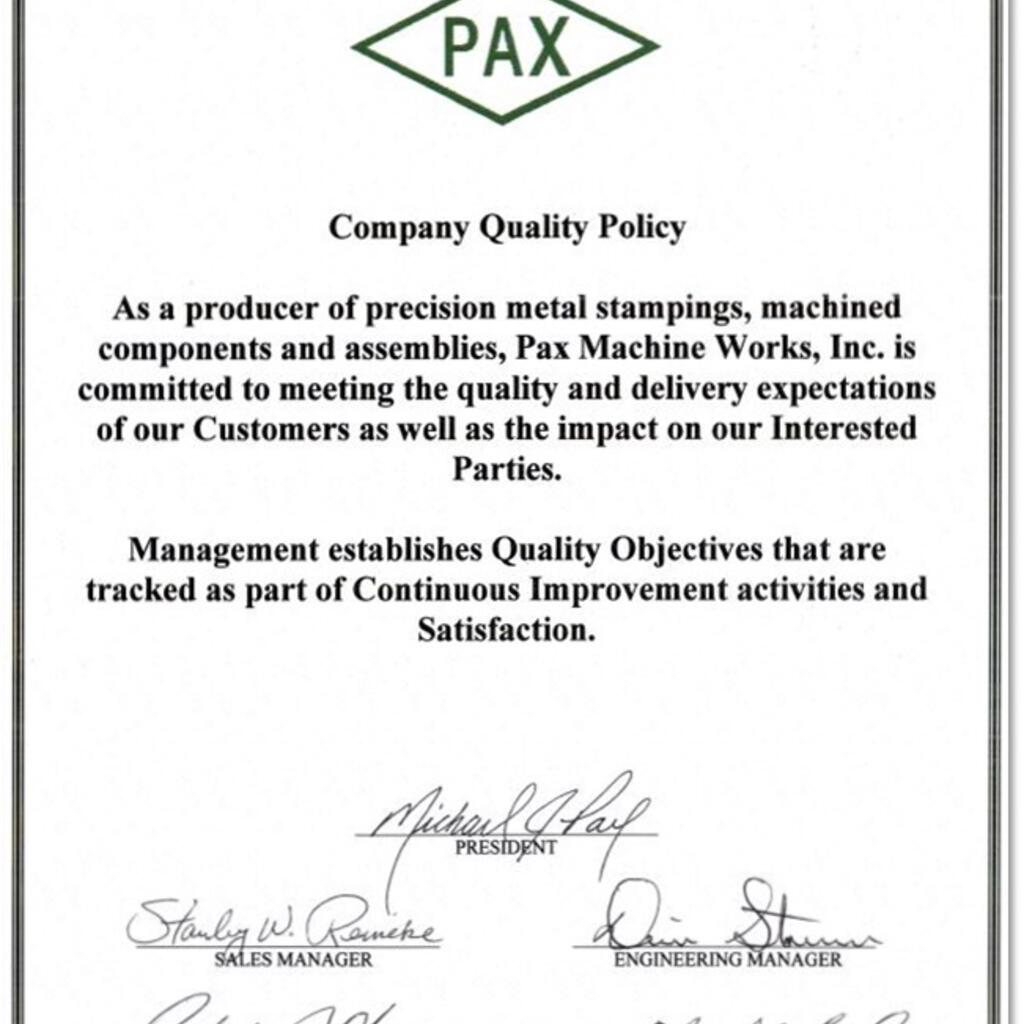 Pax Machine Works product image 62